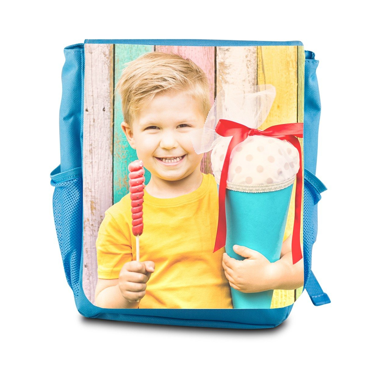 PERSONALIYED CHILDREN BAGPACK WITH PHOTO PRINT