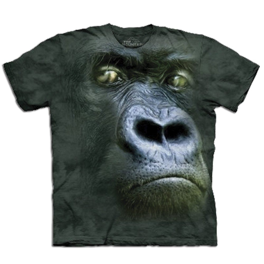 T-Shirt Big Face Gorilla