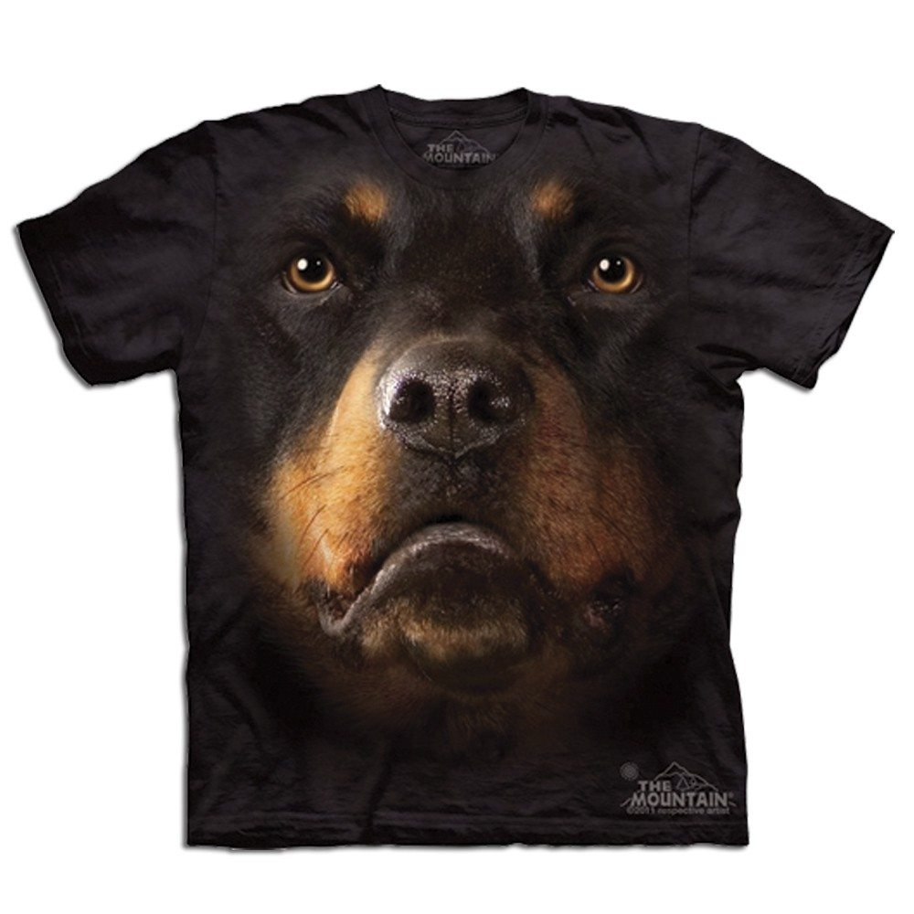 T-Shirt Big Face Rottweiler