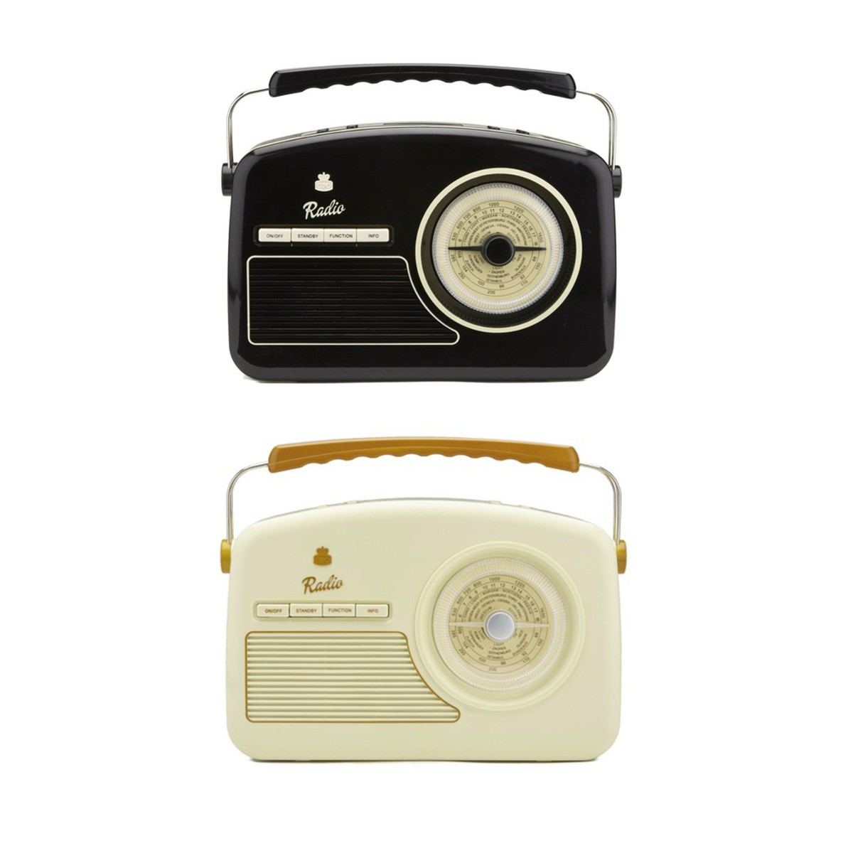 Trendy 50's DAB + Radio