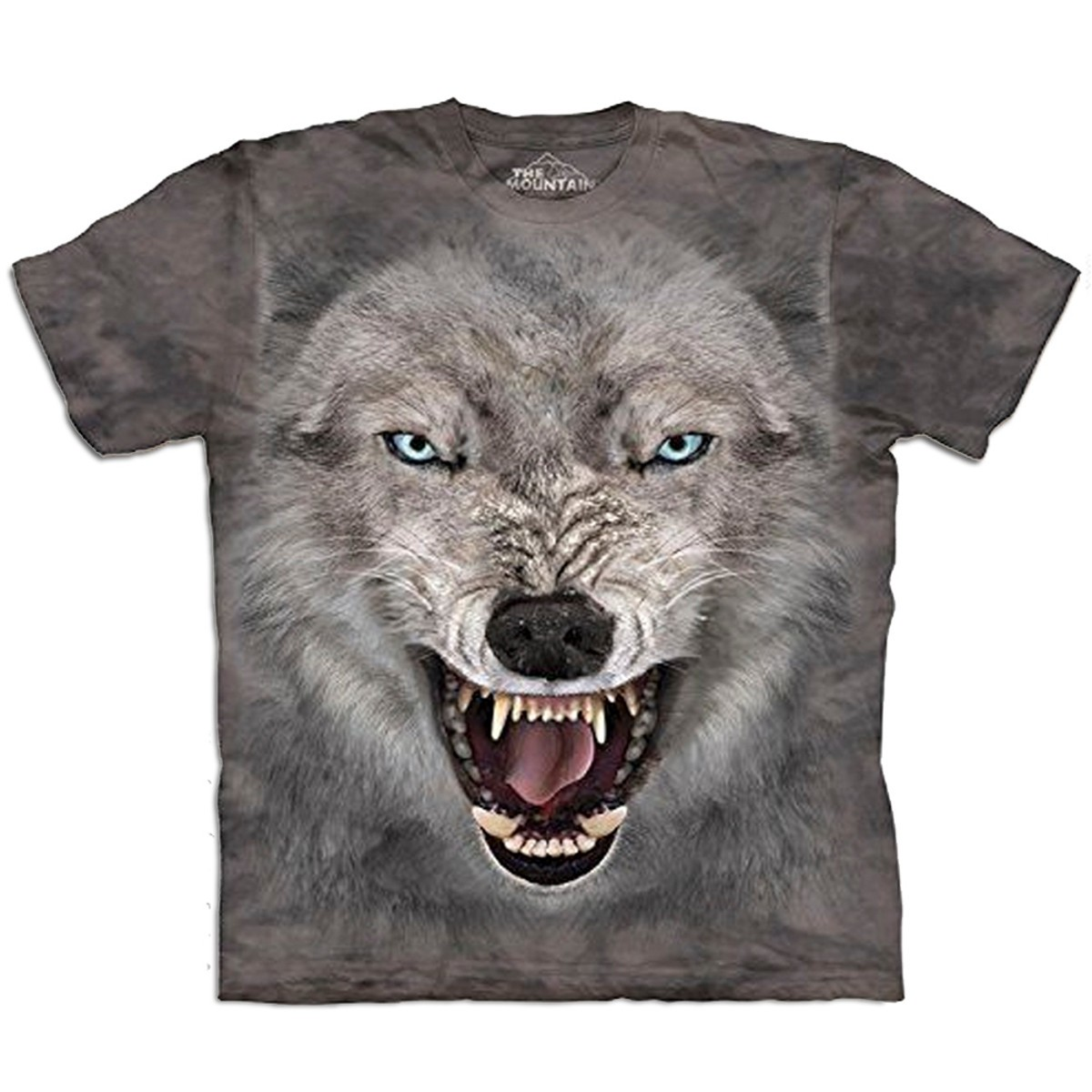Big Face T-Shirt Wolf