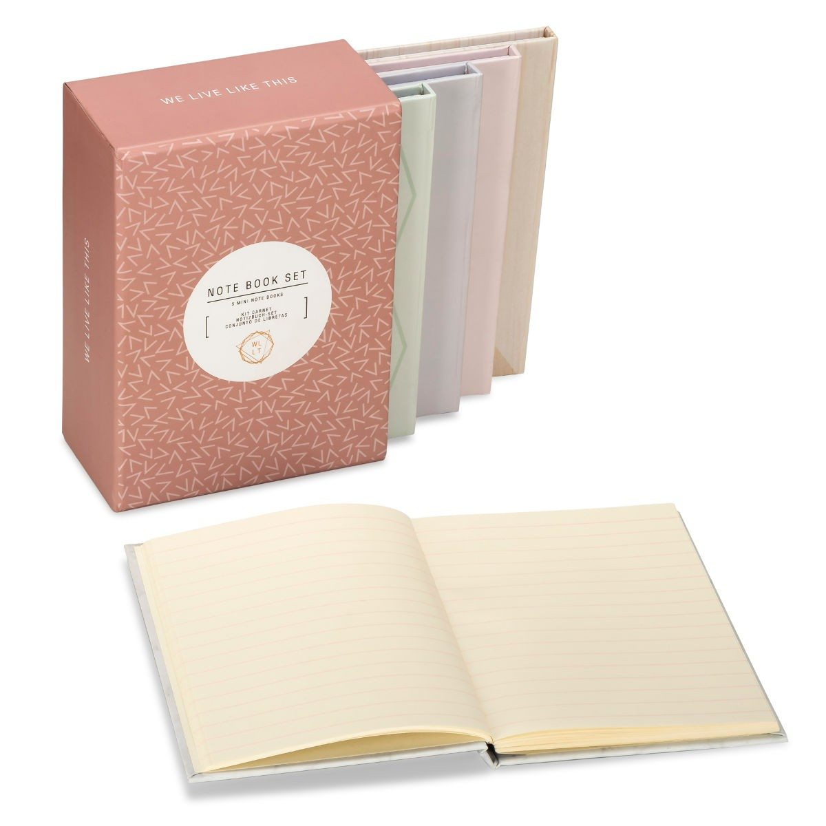 Tolles We Live Like This Mini Notebook-Set