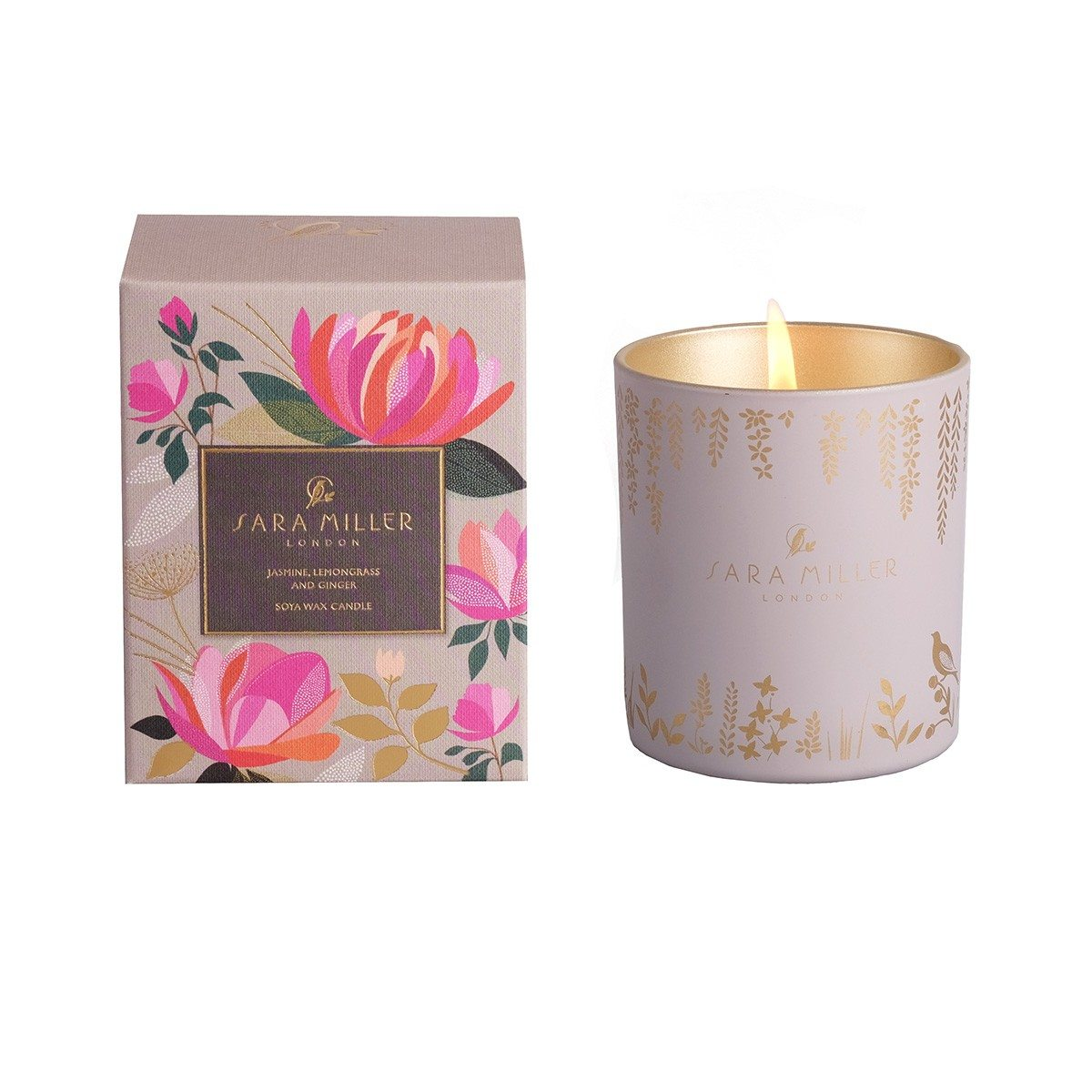 Soy Wax Candles - 240g - Jasmine, Lemongrass & Ginger