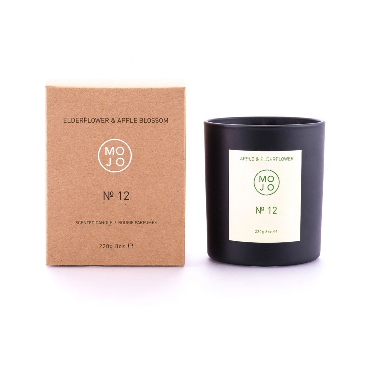 Soy Wax Candles - 220g - Elderflower & Apple Blossom