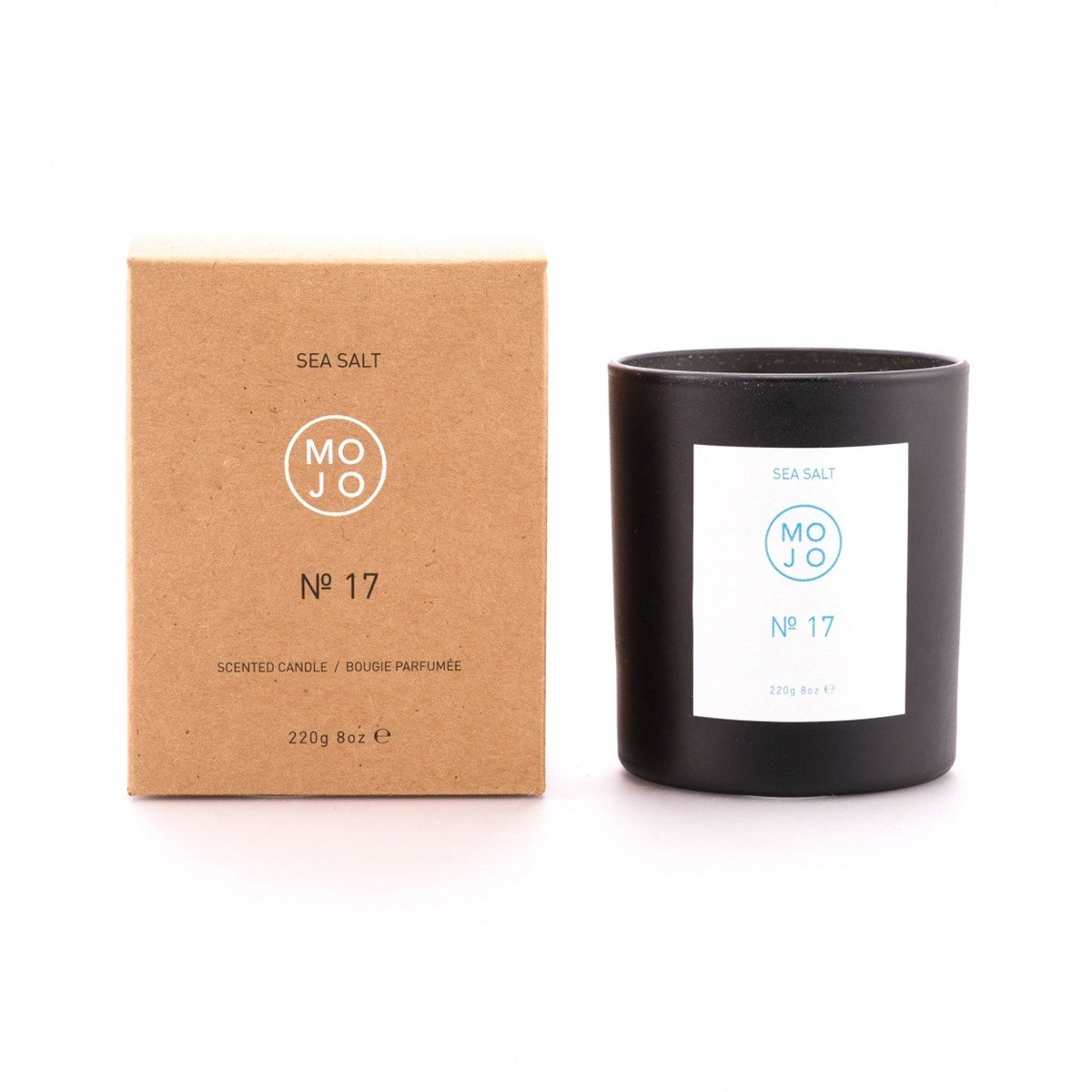 Soy Wax Candles - 220g - Sea Salt