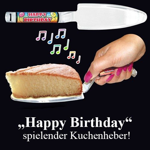 Happy Birthday - Musikalischer Tortenheber