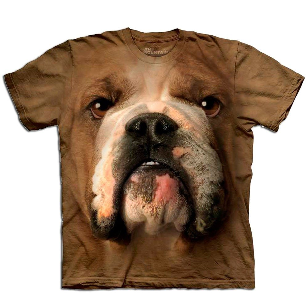 "T-Shirt ""Big Face"" – Bulldogge"