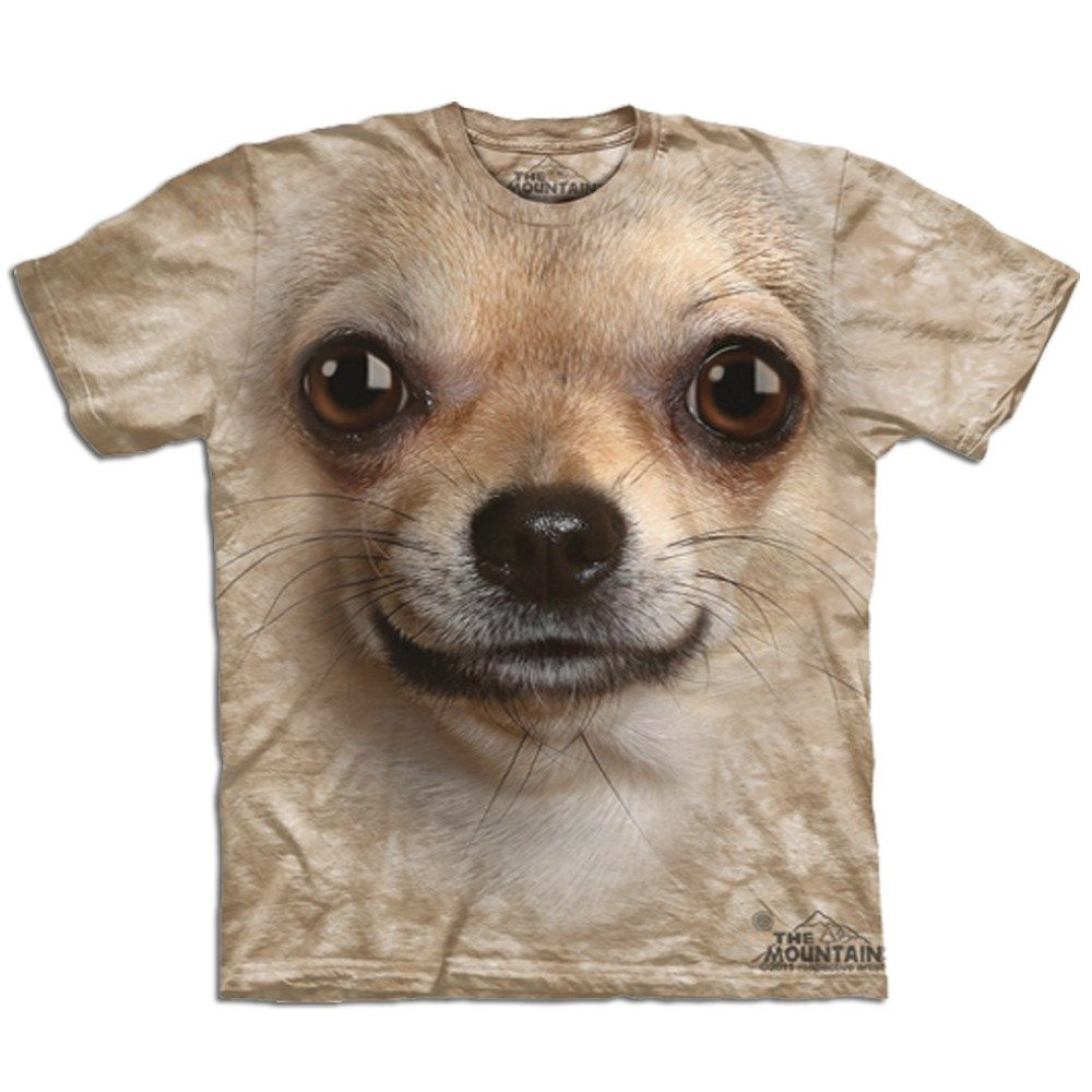 """Big Face"" T-Shirts: Chihuahua"