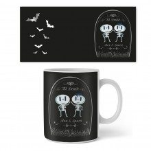 Personalisierbare Halloween-Tasse - Love Until Death