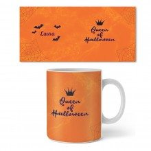 Personalisierbare Tasse - Queen of Halloween