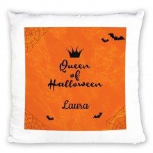 PERSONALISIERBARES KISSEN QUEEN OF HALLOWEEN