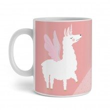 Tasse Lama Queen Design links