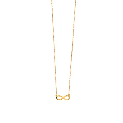 """LEAF NECKLACE """"INFINITY"""""""