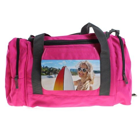 SMALL GYM BAG WITH PHOTO