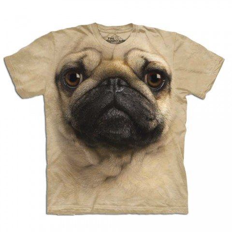 """Big Face"" Tier-T-Shirts: Mops"